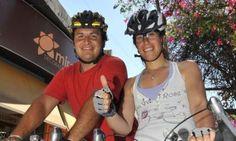 La vuelta al mundo en bici  www.viajerosdelosvientos.com  Noticias Ambientales de la Provincia de Córdoba: Vuelta al mundo en bicicleta, si, es posible