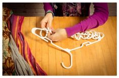 DIY HomeDecor Crafts: Re-Imagining Clothes Hangers