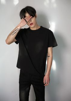 asian boy, grunge, and pale image