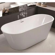 SKINNY.B.FS. Oval Freestanding Bath (1500/1700 mm) – Kalessi Bathroomware