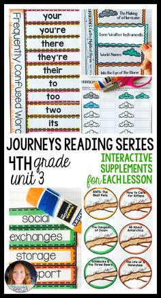 Melissa sullivan msullivanbw on pinterest this supplemental pack is aligned to the journeys 2014 and 2017 curriculum for grade this journeys grade 4 supplemental pack is created to supplement unit fandeluxe Image collections