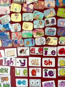 Amazing way to teach phonics, perfect for ESL kids, phonics classroom display