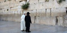 On the surface, it looks like Pope Francis and the Jews are cozying up to one another and becoming besties. Below the surface, an End of Days prophecy that