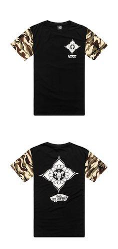 Mens Urban Streetwear T- Shirt