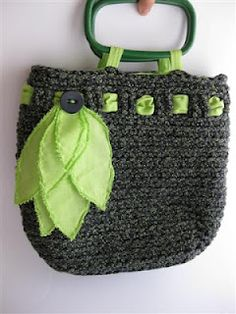inspiration only Handbag Tote Bags Purse Crochet Knit