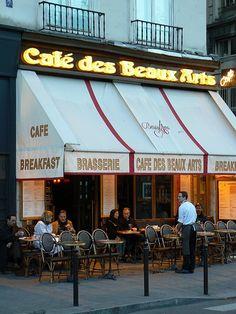 Caf des Beaux Arts, Paris