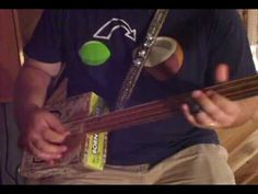 "How to Play Cigar Box Guitar pt. 2 - ""The One String Thing""  by Shane Speal"