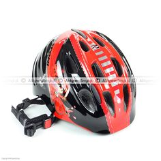Kask dla dziecka Cratoni Akino 2 Pirate black-red glossy Bicycle Helmet, Pirates, Hats, Red, Black, Hat, Black People, Cycling Helmet, Hipster Hat