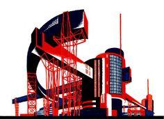 Architectural Fantasies – Iakov Chernikhov