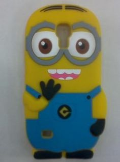 New Arrival Minion Cover for S4 Mini Cute Cartoon 3D Despicable Me 2 Minions Back Cover Case For SAMSUNG GALAXY S4 MINI I9190 Online with $5.15/Piece on Babyzeng's Store | DHgate.com