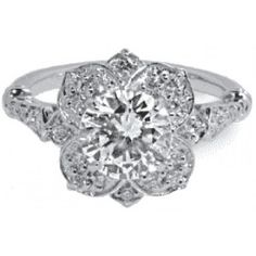 Really into antique engagement rings lately.