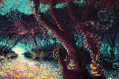 Beautifully Detailed Photoshop Paintings by James R Eads - My Modern Metropolis