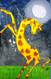 For the Love of Art: 2nd Grade: Giraffes Can't Dance