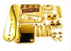 Telecaster Tele Full Body Hardware Kit for Vintage Single Coil Gold for sale online Gold For Sale, Full Body, Hardware, Kit, Best Deals, Projects, Guitar, Ebay, Vintage
