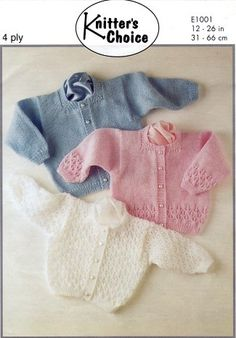 Vintage Baby Knitting Patterns - Page 2