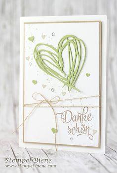 Unsere Hochzeits Danksagungskarten.....