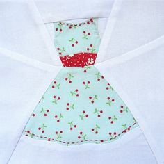 Really lovely!!  Leila's 50's housewife block by quirky granola girl, via Flickr