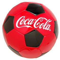 Coca-Cola RPET Soccer Ball                        , Get out and play! Any game is more fun when Coca-Cola is involved. And with this great RPET ball, soccer is no exception.