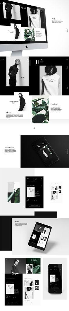 épuré – Fashion (Editorial Design) | Abduzeedo