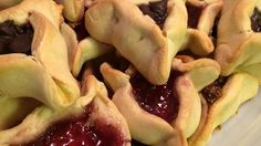 A favorite treat for the Purim holiday!  It has always worked better for me if I cover the dough  and refrigerate overnight.