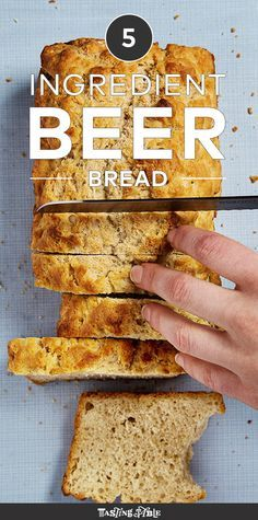 5 Ingredient Beer Bread Recipe                                                                                                                                                                                 More