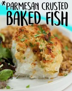 Best Fish Recipes, Tilapia Fish Recipes, Cod Recipes, Salmon Recipes, Seafood Recipes, Healthy Recipes, Best Tilapia Recipe, Easy Baked Fish Recipes, Best Fish Recipe Ever