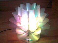 Make your own IKEA Lotus lamp.
