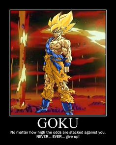 20 Best Goku Quotes images | Dragon ball z, Dragon dall z