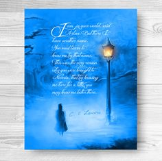 Narnia Poster Print Lion Witch and the by DESIGNEDforCHRIST