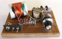 Home made Crystal Radio