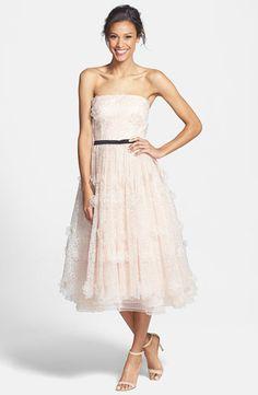 ERIN Erin Fetherston Lucielle 3D Floral Organza Dress, $695.