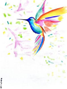 Check out this item in my Etsy shop https://www.etsy.com/uk/listing/510424922/hummingbird-art-16x12-bird-picture
