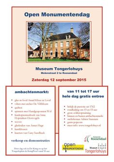 Lightning sketcher @ Museum Tongerlohuys in Roosendaal during the 'Open Monumentendag 2015'