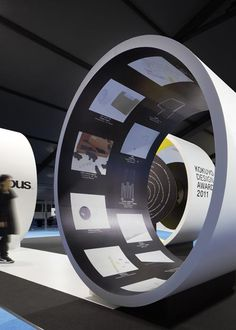 Exhibition design by Curiosity inc, Tokyo, Japan Exhibition Stand Design, Exhibition Display, Exhibition Space, Environmental Graphics, Environmental Design, Display Design, Booth Design, Displays, Design Museum