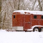 Camper trailers are expensive, but sometimes a used horse trailer is not.  Horse trailers can be converted into camper trailers very economically if you do it yourself. Some people like the idea of re-use, some like the economy of it, and some prefer the lighter, narrower load that a converted horse trailer provides.  Do-it-yourself conversion,...