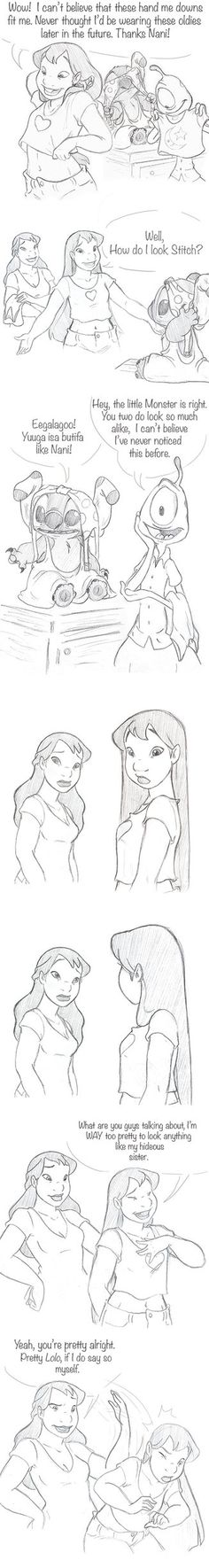 Resemblance 1/2 by jackfreak1994 on deviantART kill me i need grown up lilo like my life depended on it