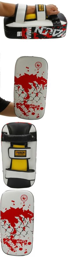Strike Pads and Mitts 179789: Thai Kick Boxing Strike Curved Arm Pad Mma Focus Muay Punch Shield Training BUY IT NOW ONLY: $83.55