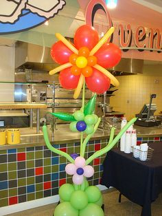 ebayflower1 by Party Fiesta Balloon Decor, via Flickr
