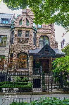 1428 N State Pkwy, Chicago, IL 60610 Magnificent Gold Coast mansion circa 1886 by architect Hansen for German beer baron Weiss.