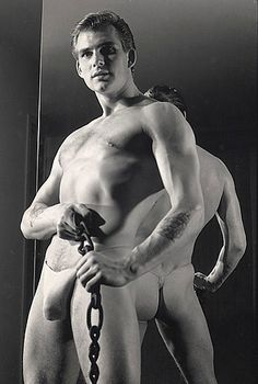 Nude champion models studio male