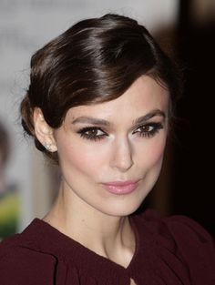 Keira Knightley, finger waves