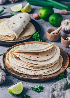 Homemade Tortillas Recipe for Tacos Wraps Burritos Bianca Zapatka Wrap Recipes, Easy Dinner Recipes, Easy Meals, Easy Recipes, Taco Wraps, Quesadillas, Tortilla Recipe, Vegan Tortilla, Homemade Tortillas