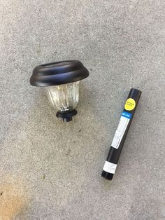 Easy DIY solar light