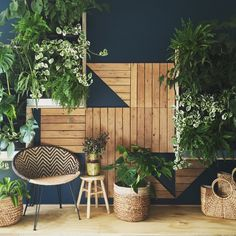 Our Stunning Phillip Withers Vertical Garden is a show stopper at our Hawksburn Store.