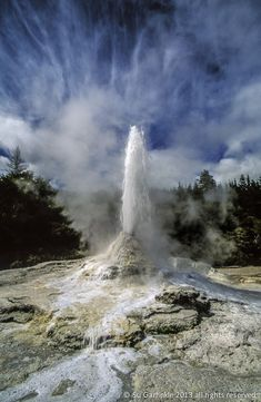 Bill ✔️ Geothermal geyser, Rotorua, New Zealand. Ppcv