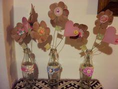 floreros del día del amigo