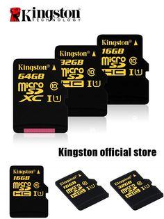 [Visit to Buy] Kingston usb flash drive Digital 16GB 32GB 64GB CL10 UHS-I 90R/45W microSDHC Card (SDCA10/16GB/32GB/64GB) #Advertisement