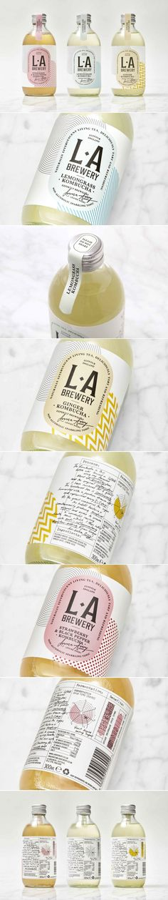 This Kombucha Brand Incorporates a Variety of Design Elements In Order to Look Fresh — The Dieline | Packaging & Branding Design & Innovation News