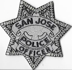 San Jose Police Department, California Officer Breast Patch • $5.99 - PicClick