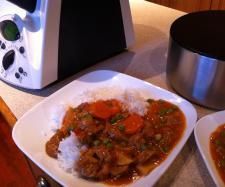 Recipe Curried Sausages by learn to make this recipe easily in your kitchen machine and discover other Thermomix recipes in Main dishes - meat. Curried Sausages, Meat Recipes, Cooking Recipes, Recipe Community, Curry Powder, Dinners For Kids, Main Meals, Main Dishes, Beef